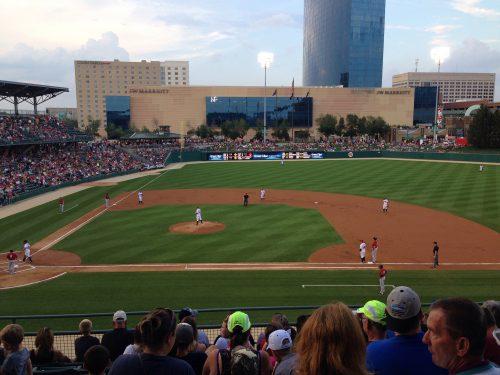 Indianapolis Indians vs Columbus Clippers