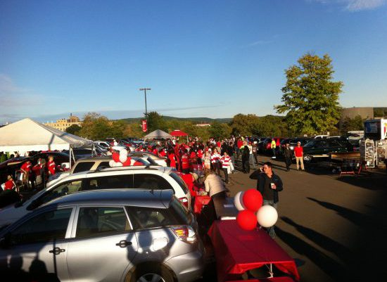 Cornell Big Red tailgate homecoming