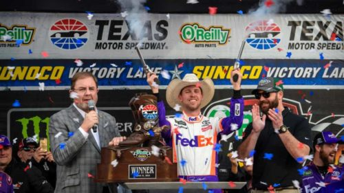 Denny Hamlin Orielly Texas Motor Speedway