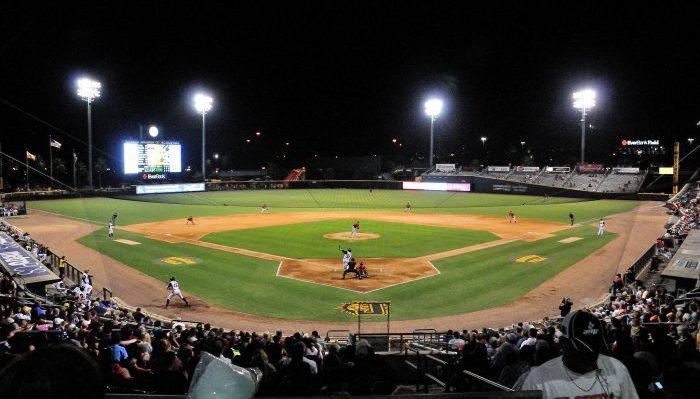 Jacksonville Jumbo Shrimp Baseball Grounds of Jacksonville