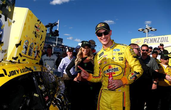 Joey Logano Pennzoil Las Vegas Motor Speedway