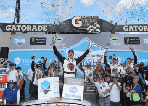 Kevin Harvicks TicketGuardian 500 champion 2018