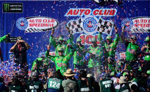 Kyle Busch Auto Club Speedway