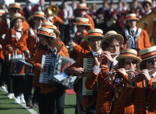 Princeton Tigers Marching band
