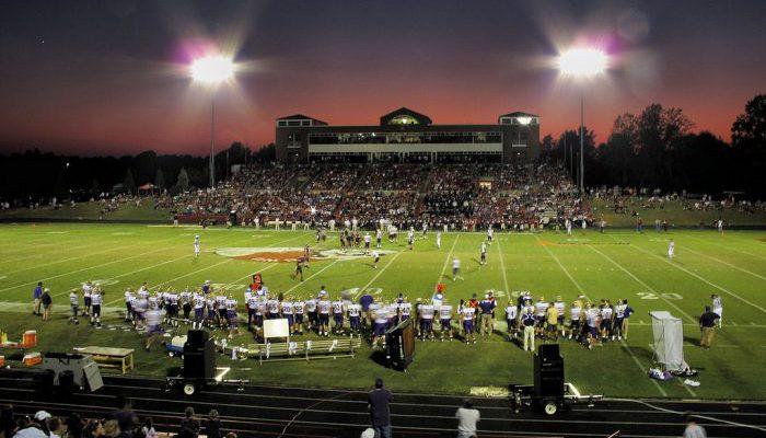 Spangler Stadium GWU Bulldogs