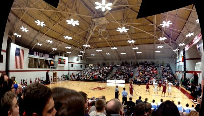 Harvard Crimson Basketball Lavietes Pavilion