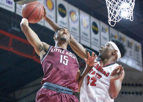 UALR Little Rock Trojans Basketball Jack Stephens Center