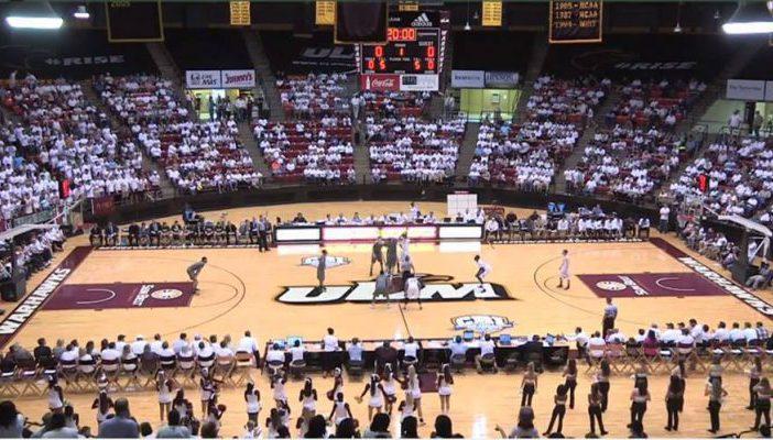 Louisiana Monroe Warhawks Basketball Fant Ewing Coliseum