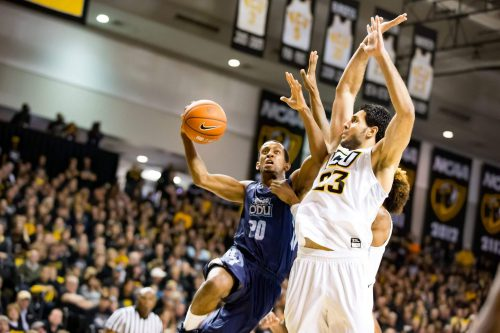 Old Dominion Monarchs vs Virginia Commonwealth University VCU Rams basketball rivalry