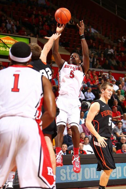 Princeton Tigers Basketball Rutgers Scarlet Knights
