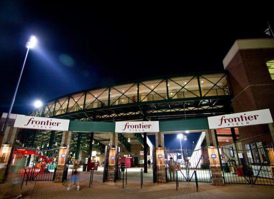 Frontier Field entrance