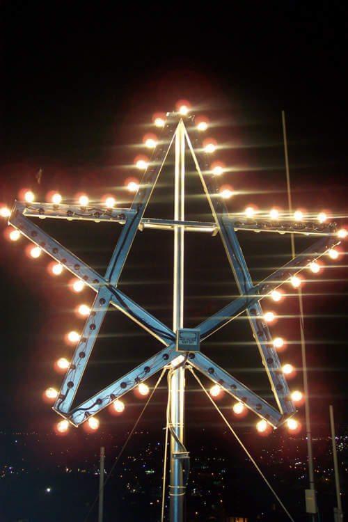 Texas State Bobcats victory star Jackson Hall