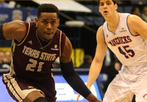 Texas State Bobcats Basketball UTSA mavericks
