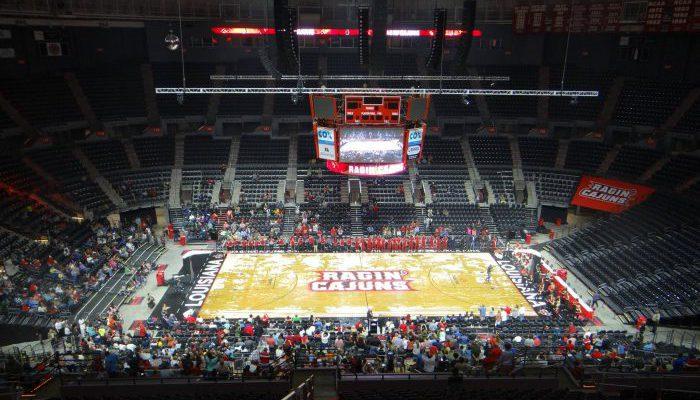 UL Lafayette Ragin Cajuns Basketball Cajundome