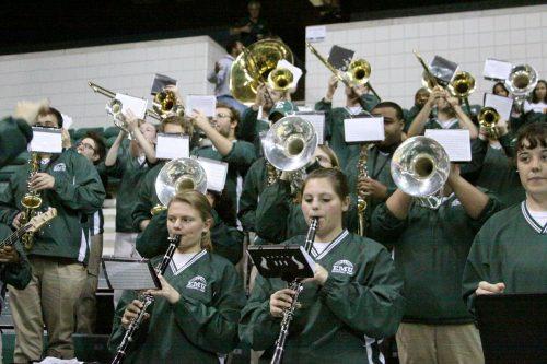 EMU Basketball Band