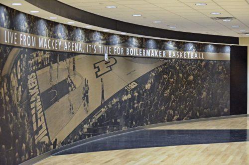 Mackey Arena Purdue Boilermakers basketball