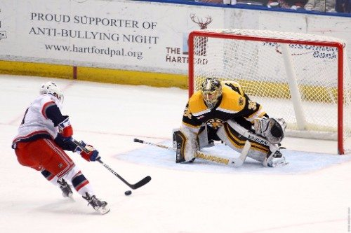 Providence Bruins vs Hartford Wolf Pack