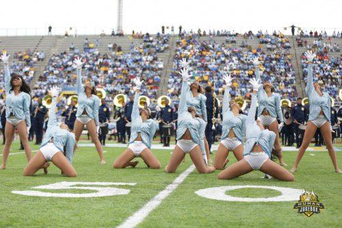 Southern Jaguars dancing dolls Ace W Mumford Stadium