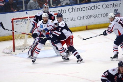 Springfield Thunderbirds vs Hartford Wolf Pack
