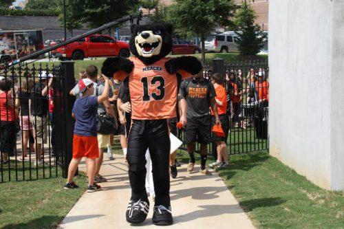 Toby mascot of Mercer Bears