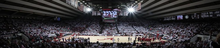 Alabama Crimson Tide Coleman Coliseum