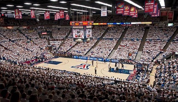 McKale Center Arizona Wildcats basketball