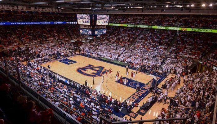 Auburn Arena basketball