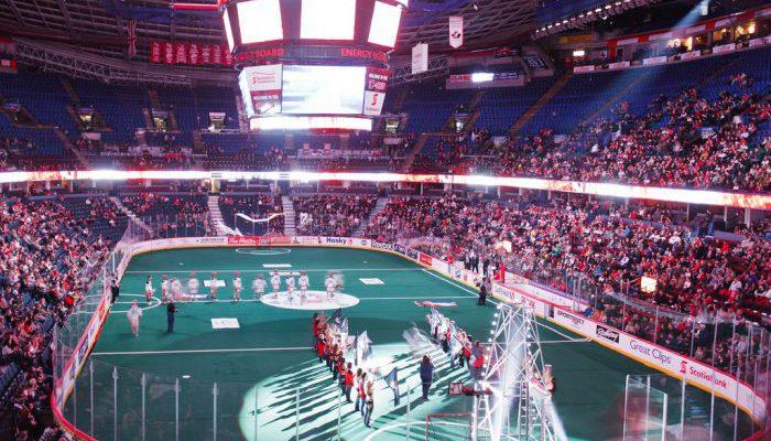 Calgary Roughnecks Scotiabank Saddledome