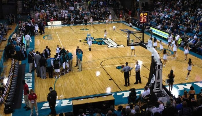 HTC Center Coastal Carolina Chanticleers