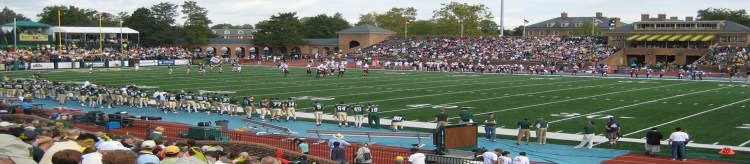 Zable Stadium William Mary Tribe mascot Griffin