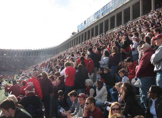 Harvard Crimson Football Fans