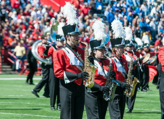 Illinois State Redbirds football band
