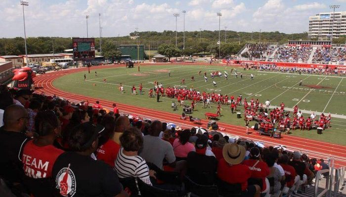 Gayle and Tom Benson Stadium Incarnate Word Cardinals