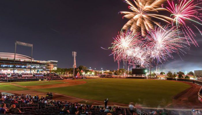 Jacksonville Jumbo Shrimp Baseball Grounds of Jacksonville