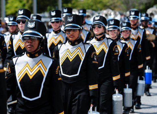 Kennesaw State Owls marching band homecoming