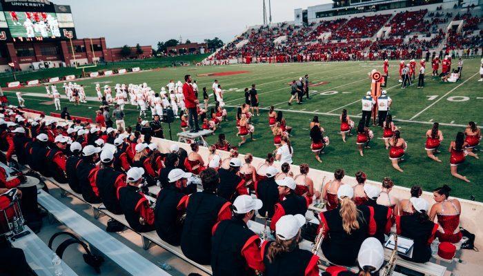 Lamar University Cardinals football Provost Umphrey Stadium