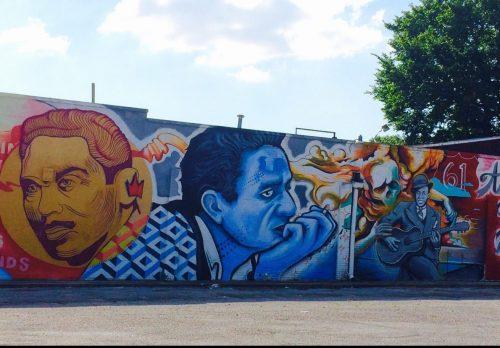 Memphis Music Festival Mural