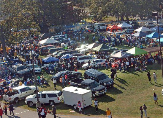 North Carolina AT Aggies Aggie Stadium tailgate
