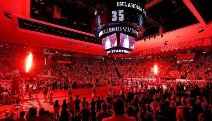 Lloyd Noble Center Oklahoma Sooners