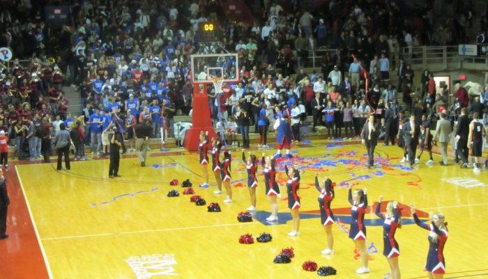 Palestra Penn Quakers Basketball
