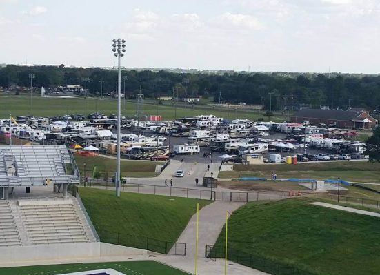 Prairie View AM Panthers Panther Stadium at Blackshear Field tailgate