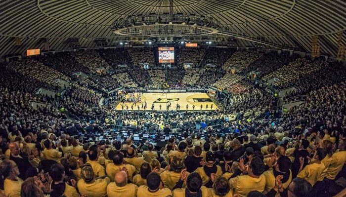 Mackey Arena Purdue Boilermakers basketball