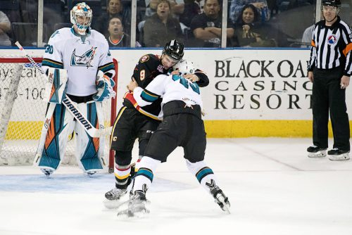 Stockton Heat San Jose Barracuda