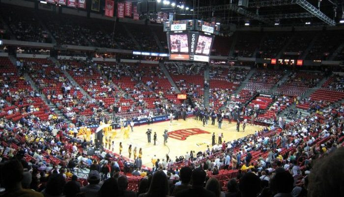 UNLV Runnin Rebels Thomas Mack Center