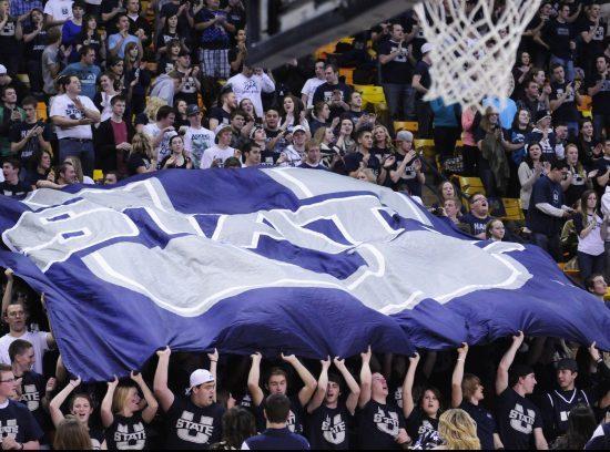 Utah State Basketball fans