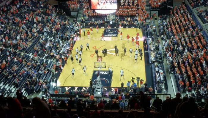 Virginia Cavaliers John Paul Jones Arena