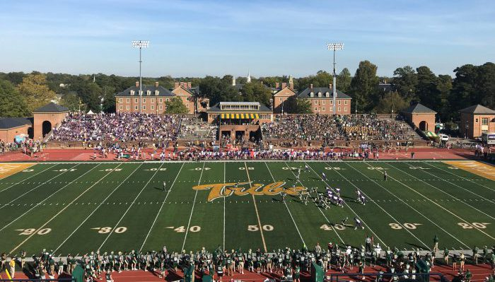 William Mary Tribe Zable Stadium