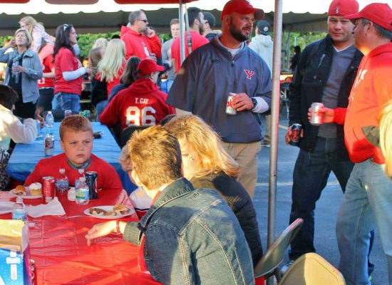 Youngstown State Penguins tailgate