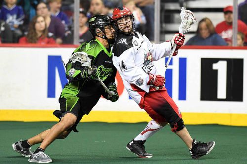 Calgary Roughnecks vs Saskatchewan Rush