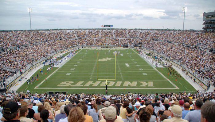 UCF University of Central Florida Spectrum stadium